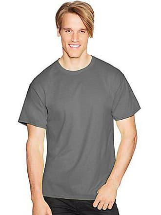 Hanes ComfortBlend EcoSmart Crewneck Mens T-Shirt Stonewashed Green 2XL