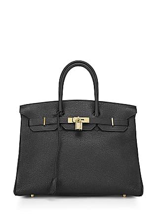 Hermès Birkin 35 Togo Satchel Bag, Black