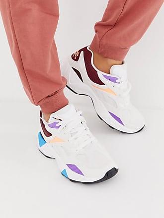 Reebok Aztrek 96 - Sneaker in Weiß-Bunt