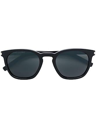 Saint Laurent Eyewear Óculos de sol retangular - Preto