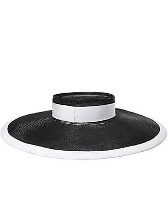 8b3e38404048da Eugenia Kim Bettie Grosgrain-trimmed Faux Raffia Hat - Black