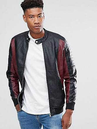 564f7ce38 Men's Faux Leather Jackets − Shop 121 Items, 10 Brands & up to −70 ...