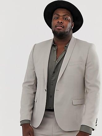 Twisted Tailor Plus - Giacca da abito super skinny grigio