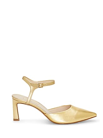 c5808cdeee Louise et Cie Womens Kaiyla Slingback Pumps Gold Size 12 Leather From Sole  Society