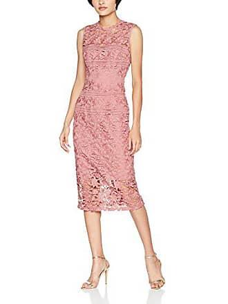 Little Mistress Damen Partykleid Rosette Crochet Lace Bodycon Dress d6f672fbf7