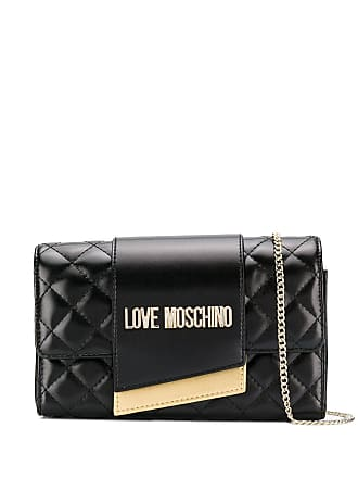 7369d3dca289 Love Moschino quilted-effect shoulder bag - Black