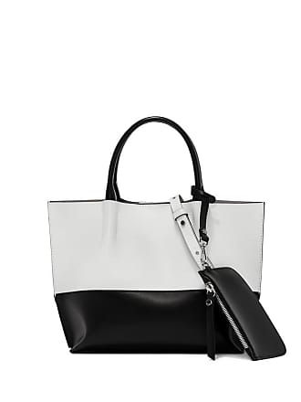 Gianni Chiarini twenty small white black shopping bag