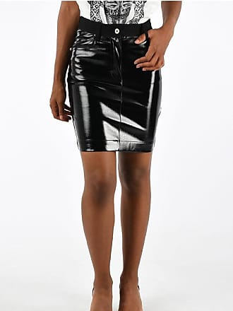 Just Cavalli Faux Leather Skirt size 42