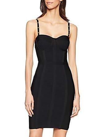 200a70827f79b Guess Anne Sweater Dress Robe de soirée, Noir (Jet Black A996 Jblk),