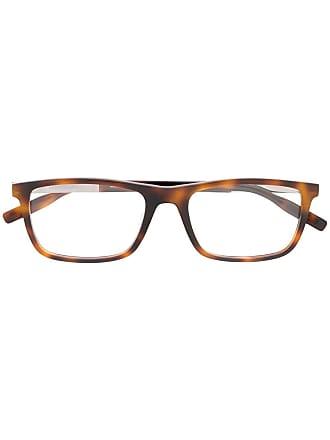 Montblanc MB0021O 003 tortoiseshell glasses - Marrom