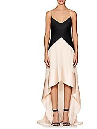 02573a863f Narciso Rodriguez Womens Silk Satin   Georgette Gown - Black Size 44 IT