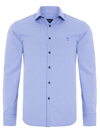 Arrow CAMISA MASCULINA CASUAL - AZUL