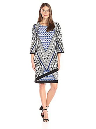 95578bc531 AGB Womens Contemporary Dress Surplus Hem Line with Contrast Trim Detail