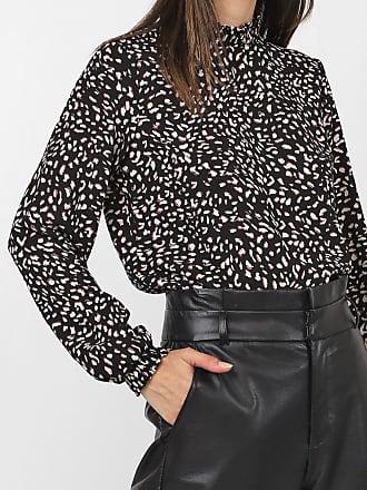 Vero Moda Blusa Vero Moda Estampada Preta