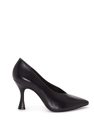 Vince Camuto Womens Ishani High Cut Pumps Black Alicante Sheep Size 6 From Sole Society