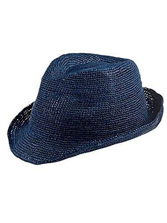 c14349d6508e9 Capo Rio Melange Hat Fedora, Bleu (Lagoon 14), Large Mixte