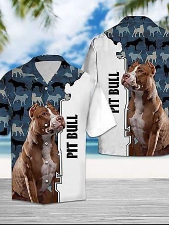 NA Pitbull CAMO Hawaii Button Shirt