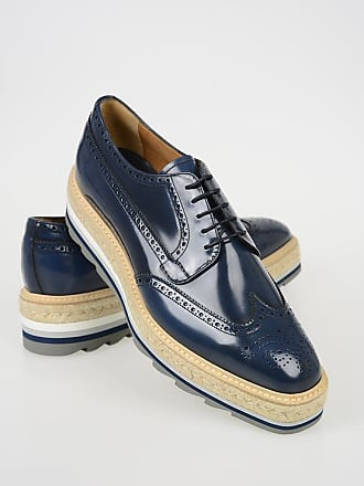 19964da84ff Prada Leather Derby Shoes with Platform size 8