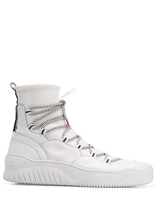 Just Cavalli hi top sock sneakers - White