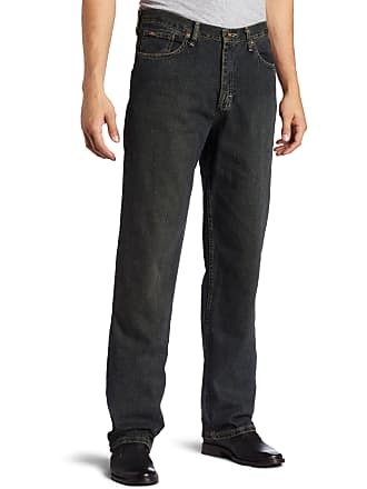 85280b3b Lee Mens Big-Tall Premium Select Relaxed Fit Straight Leg Jean, Sanded  Bronze,