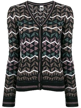 M Missoni geometric pattern cardigan - Marrom