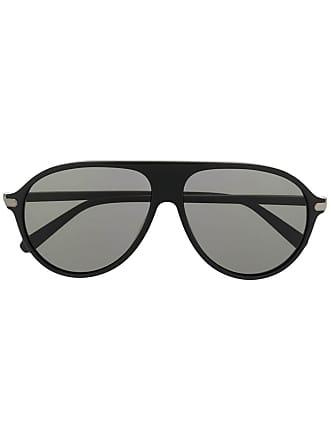 Brioni Óculos de sol aviador - Preto