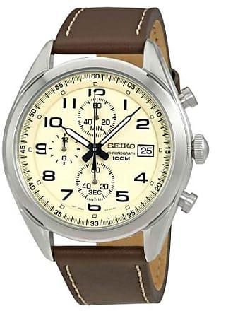 a42c287da Seiko® Chronograph Watches − Sale: at USD $91.31+ | Stylight