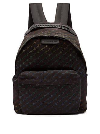 812147592db3 Stella McCartney Stella Mccartney - Falabella Rainbow Logo Print Nylon  Backpack - Womens - Black Multi. In high demand