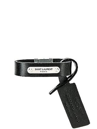 Saint Laurent YSL Bracelet in Black