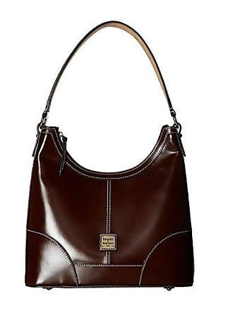 Dooney & Bourke Selleria Hobo (Chestnut/Chestnut Trim) Hobo Handbags
