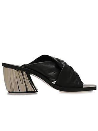 Proenza Schouler Proenza Schouler Woman Twisted Leather Mules Black Size 37