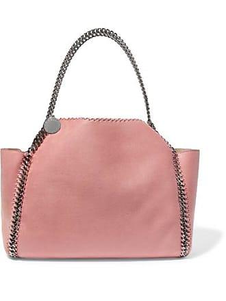 035c0a96e64c Stella McCartney The Falabella Medium Reversible Faux Brushed-leather Tote  - Blush
