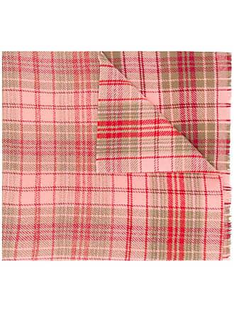 Acne Studios Cassiar Check oversized scarf - Rosa