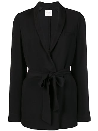 Forte_Forte classic belted blazer - Black