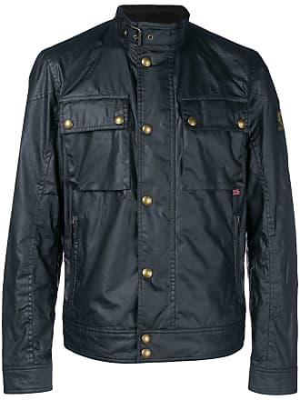 Belstaff button-up military jacket - Preto