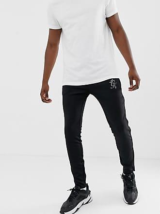 9d80546ca2 The Gym King Freeman - Bas de survêtement en polyester réfléchissant - Noir  - Noir