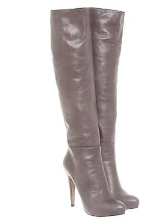 d692a513b90be Prada gebraucht - Stiefel aus Leder in Grau - EU 40 - Damen - Leder