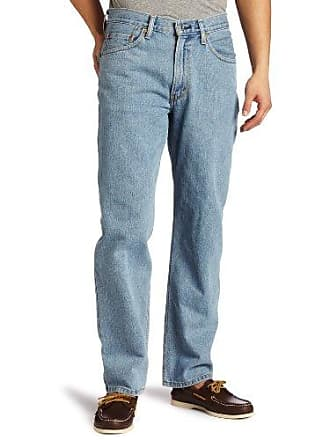 Levi's Mens 550 Relaxed-fit Jean, Light Stonewash, 30X30
