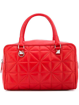 Sonia Rykiel quilted trunk bag - Vermelho