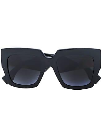 Fendi lunettes de soleil à monture carrée oversize - Noir 4d1a275647f