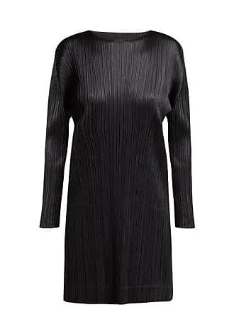 Pleats Please Issey Miyake Glaring Night Pleated Tunic - Womens - Black