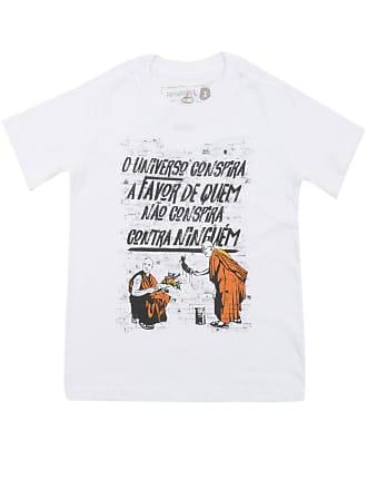 Reserva Mini Camiseta Reserva Mini Manga Curta Menino Branca
