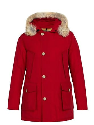 6c0751a814cd Woolrich Arctic Down Filled Hooded Parka - Mens - Red