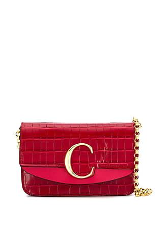 Chloé Chloé C bag - Vermelho