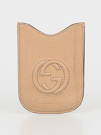 Gucci SAND LEATHER BLACKBERRY CASE size Unica