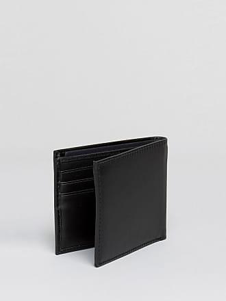 e26fbc3344ff7 Tommy Hilfiger Eton - Kleine Brieftasche aus schwarzem Leder - Schwarz