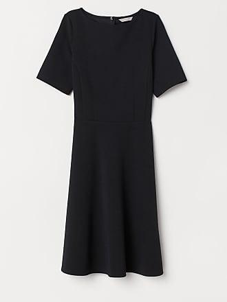 H&M Circle-skirt Dress - Black
