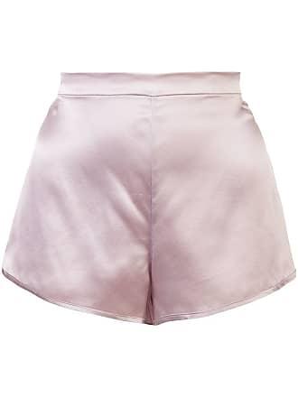 Fleur du Mal high-waisted shorts - Pink