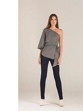 Lebôh Calça Skinny Pietra Cos Alto Amaciada Jeans 34