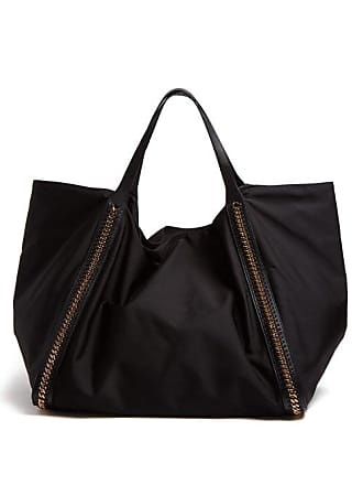 f34979731a Stella McCartney Stella Mccartney - Falabella Go Oversized Eco Nylon Tote  Bag - Womens - Black